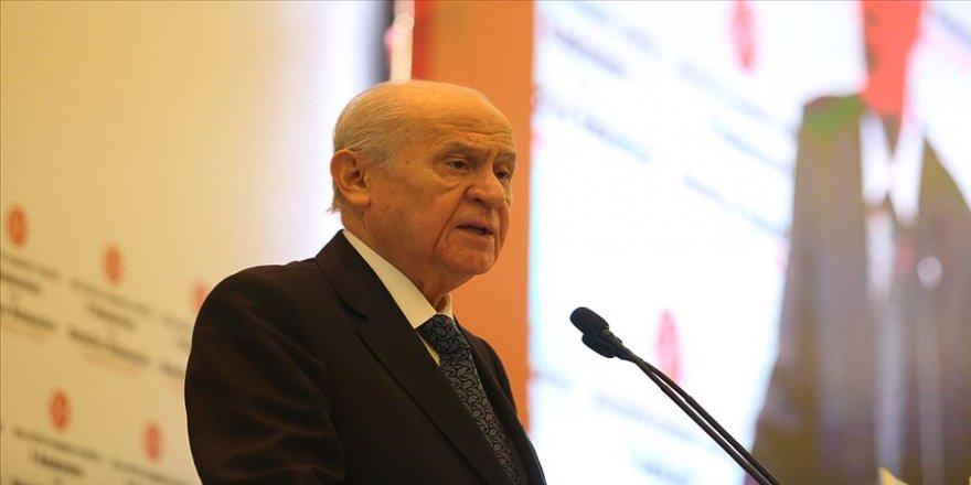 """Mhp Genel Başkanı Bahçeli: """"Türkiye'nin Normalleşmeye İhtiyacı Vardır. Gerginlikler Azaltılmalıdır. Kutuplaşarak Mesafe Alamayız"""" Dedi."""