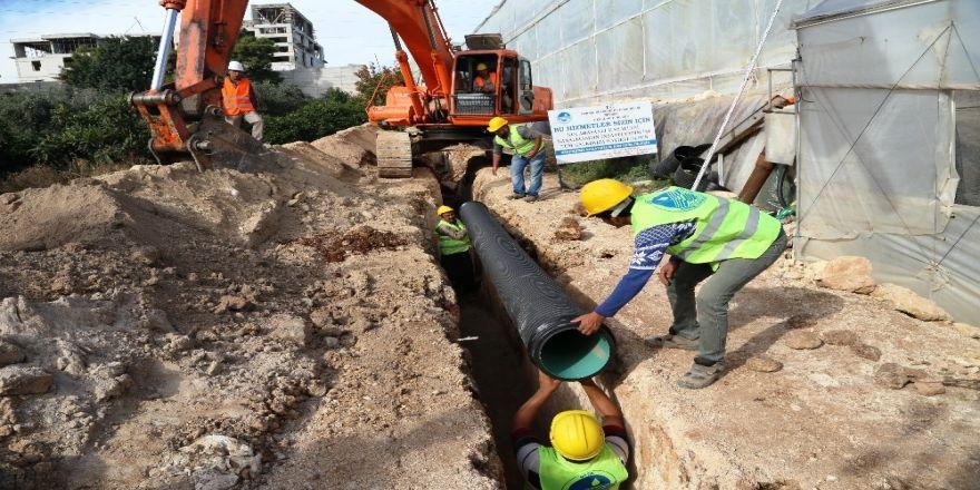 Kocahasanlı Mahallesi Kanalizasyona Kavuştu