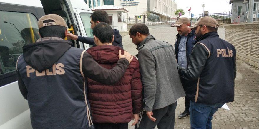 Samsun'da Deaş'tan 4 Iraklı Serbest, 3'üne Yeniden Gözaltı