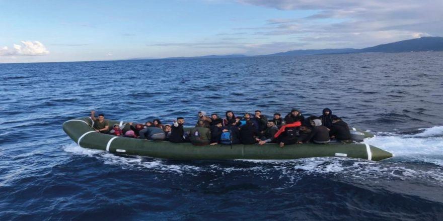 40 kaçak göçmen yakalandı