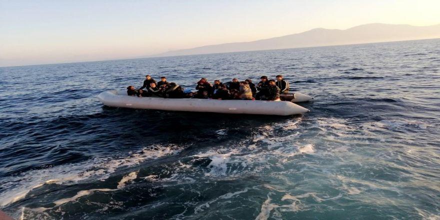 Didim'de 39 Mülteci Yakalandı