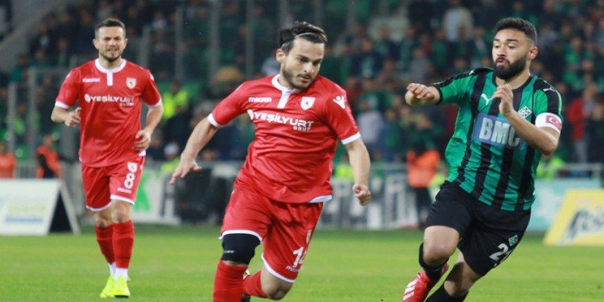 Tff 2. Lig Play-off Çeyrek Final: Sakaryaspor: 1 - Samsunspor: 0