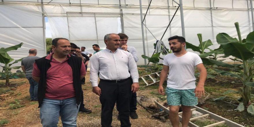 Bafra İle Antalya 'Tarım' Kardeşi Oldu