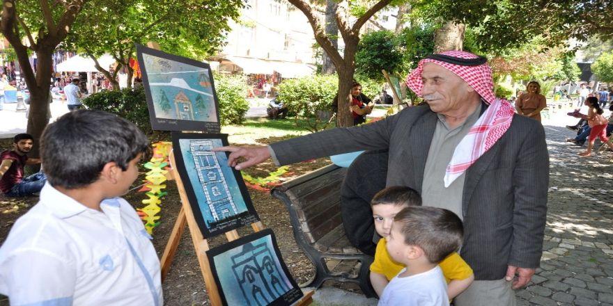 Türkiye'nin 7 Bölgesini Anlatan Resimler Kızıltepe'de Sergilendi