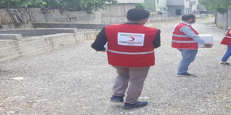 Türk Kızlay'ından gıda yardımı