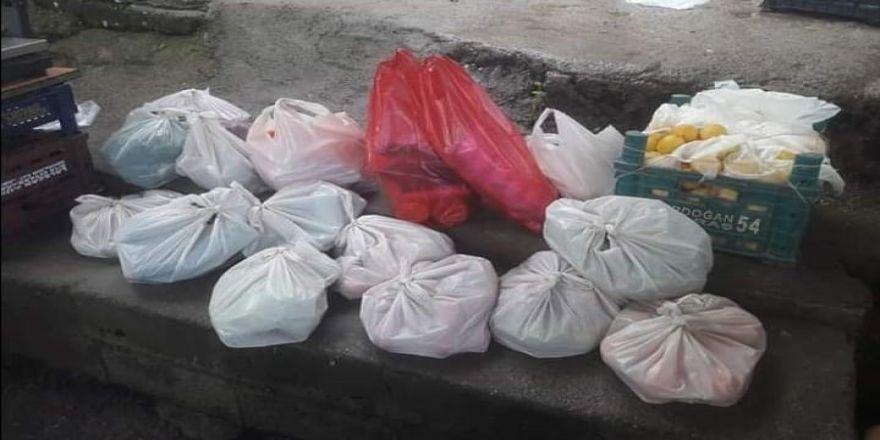 Diyarbakır'da İhtiyaç Sahibi Ailelere Yardım Kolisi Dağıtıldı