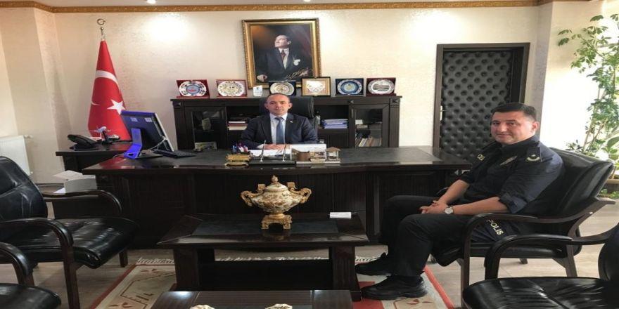 Burhaniye'de Yeni İlçe Emniyet Müdürü Göreve Başladı