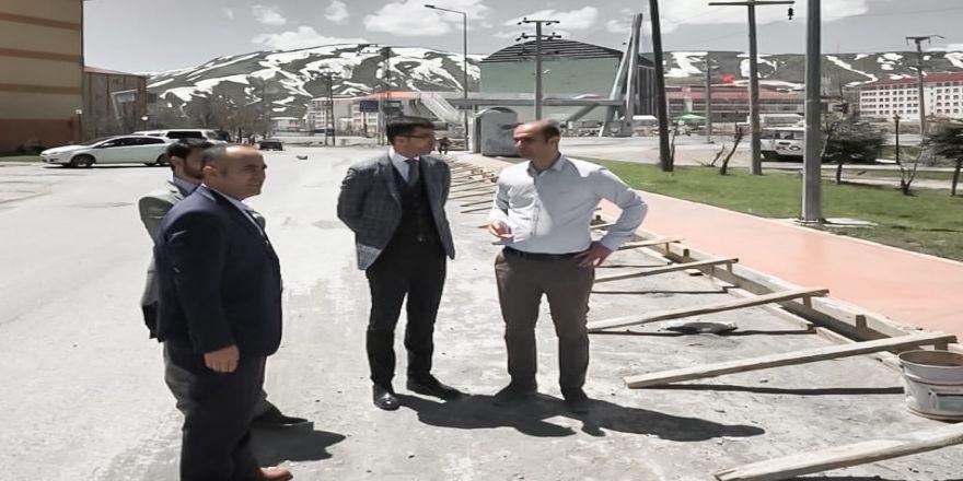 Bitlis Belediyesinden Kaldırım Çalışması