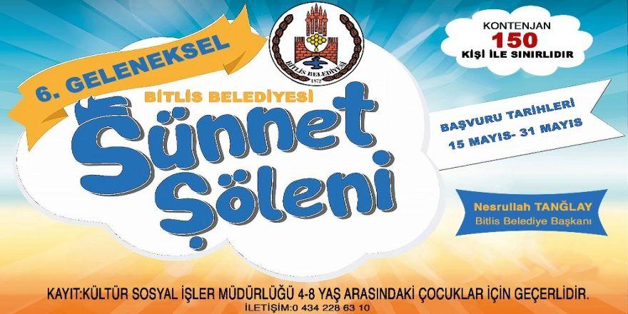Bitlis Belediyesinde Toplu Sünnet Hazırlığı