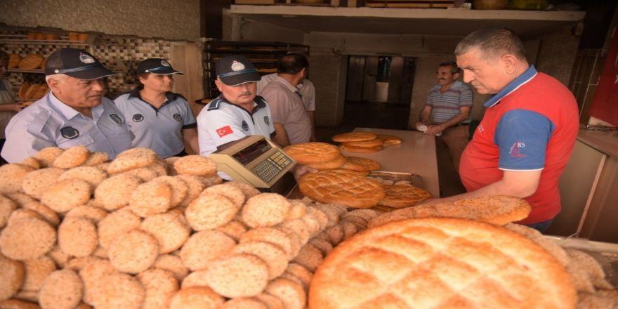 Osmaniye'den Ekmek Fırınlarında Gramaj Denetimi