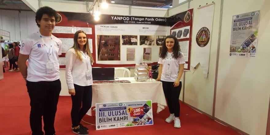 Trabzon Merkez Fen Lisesi Bursa'dan Birincilik Ödülü İle Döndü