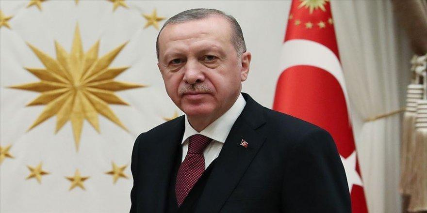 Cumhurbaşkanı Recep Tayyip Erdogan, Türkiye Barolar Birliği (Tbb) Başkanı Metin Feyzioğlu'nu, Cumhurbaşkanlığı Külliyesinde Kabul Etti.