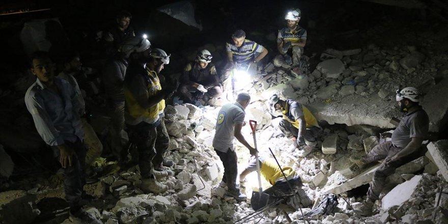 İdlib'de sahurda saldırı : 3 ölü, 7 yaralı
