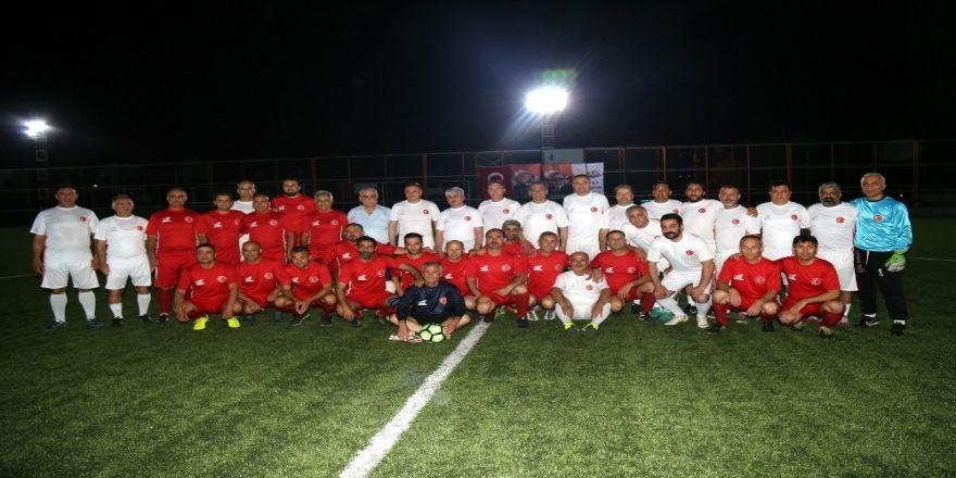 Erhan Aksay Futbol Turnuvası Körfez Grubu Maçları Başladı