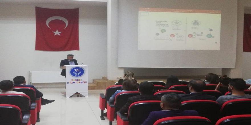 """Tunceli'de """"Otizm"""" Eğitim Semineri"""