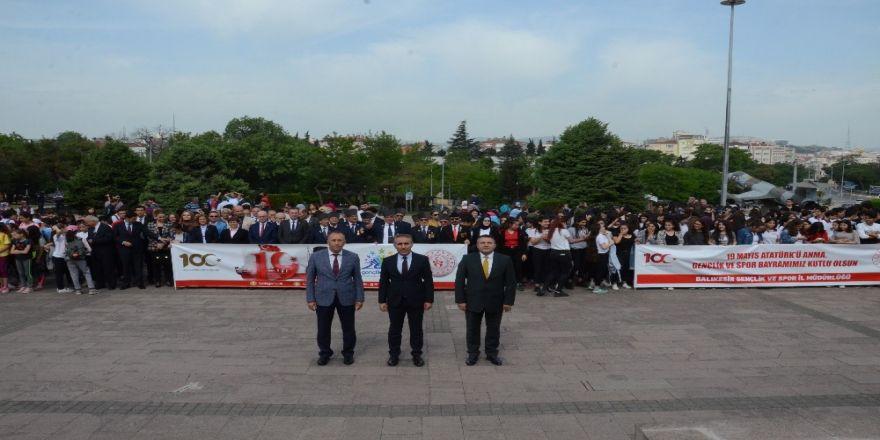 19 Mayıs Atatürk'ü Anma Gençlik Ve Spor Bayramı Etkinlikleri Başladı