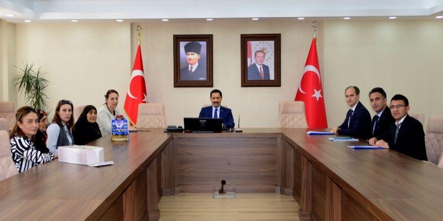 """Vali Mustafa Masatlı Başkanlığında """"Damal Bebeği Projesi"""" İle İlgili Toplantı Yapıldı"""