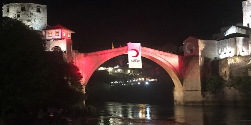 Türk Kızılaydan Mostar'da iftar programı