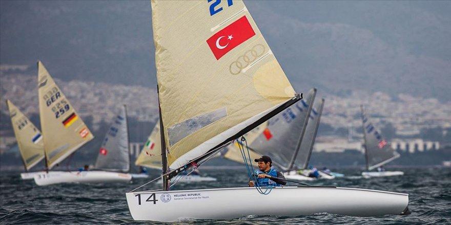 Yelken Avrupa Şampiyonası'nda Alican Kaynar dördüncü oldu