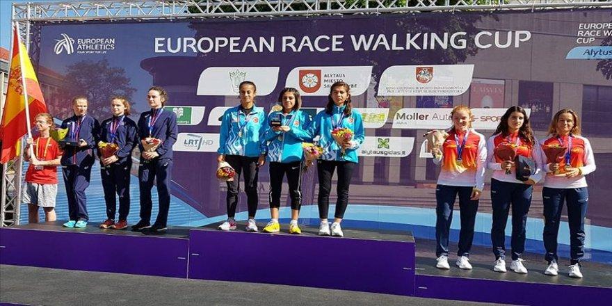 Avrupa Yürüyüş Kupası'nda tarihi başarı