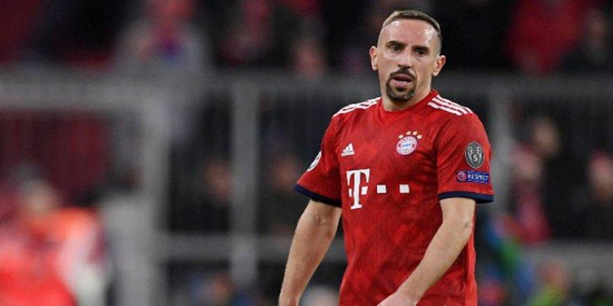 Franck Ribery, Galatasaray'ı tebrik etti