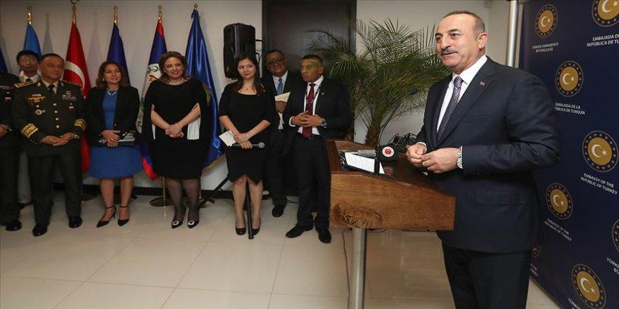 Dışişleri Bakanı Çavuşoğlu: Türkiye tüm Latin Amerika ve Karayipler'de çok aktif