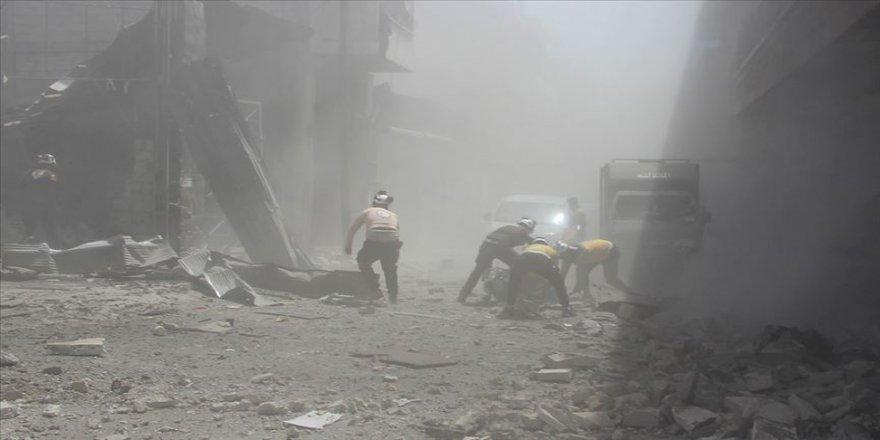 İdlib Gerginliği Azaltma Bölgesi'ne hava saldırısı: 6 ölü