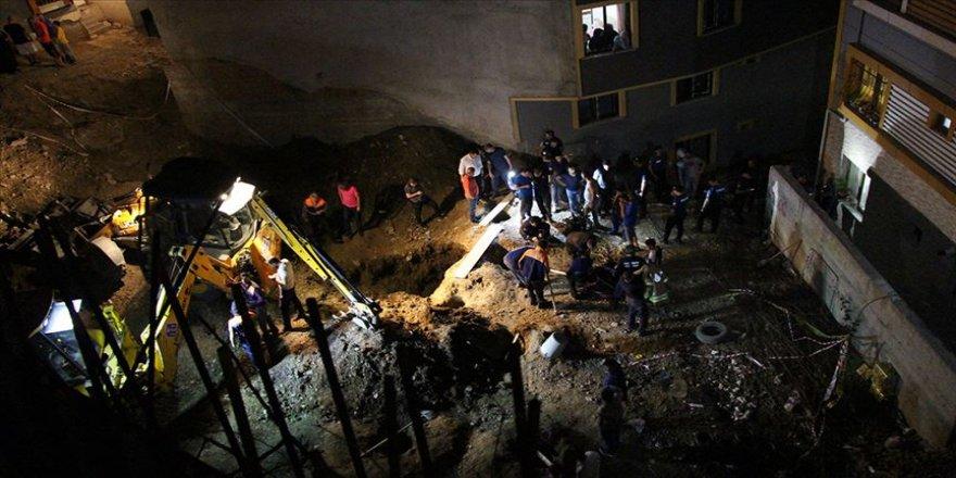 Eyüpsultan'da inşaat çukuruna düşen çocuğun ölümüyle ilgili bir kişi tutuklandı