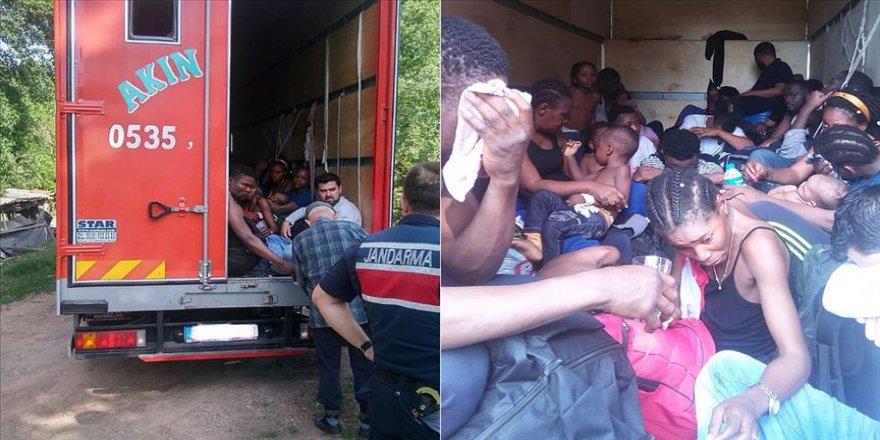 35 göçmen yakalandı