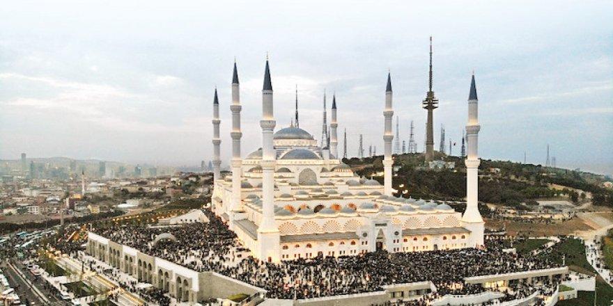 Kur'an finali Çamlıca Camisi'nde