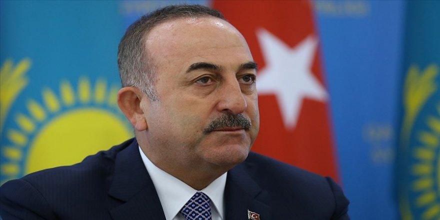 Çavuşoğlu Nursultan Nazarbayev ile görüştü