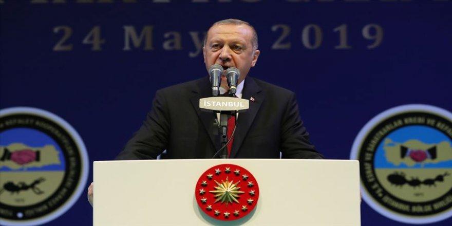 Cumhurbaşkanı Erdoğan: İstanbul halkının oyuna halel gelmesine göz mü yummalıydık