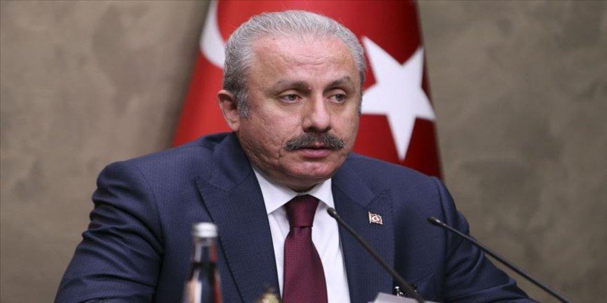 TBMM Başkanı Şentop, Kuzey Makedonya'ya gitti