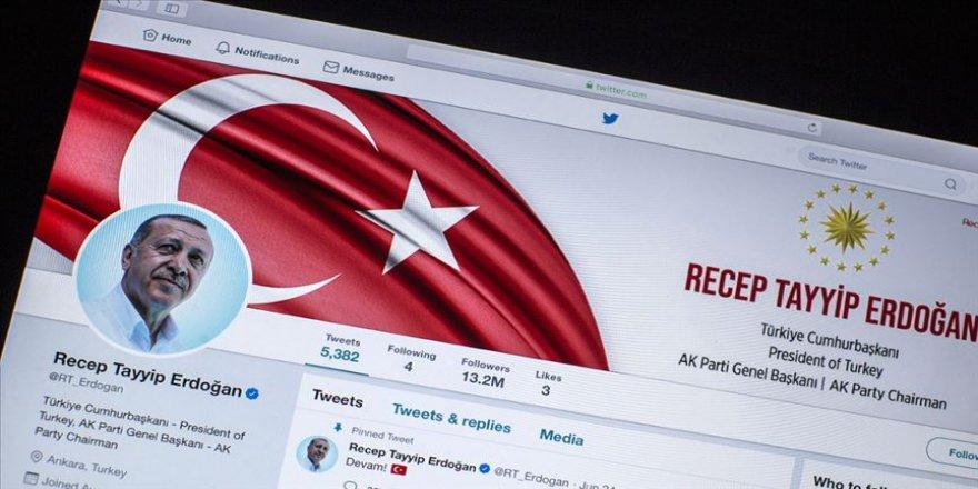 Erdoğan'dan Twitter paylaşımı