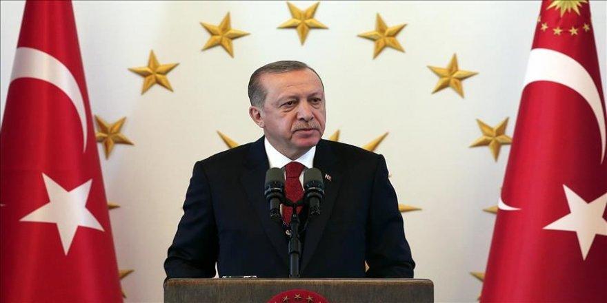 Erdoğan'dan Süper Lig'e çıkan takımlara kutlama