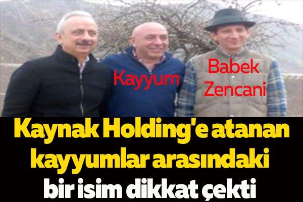 Kaynak Holding'e Atanan Kayyuma 105 Bin Lira Maaş