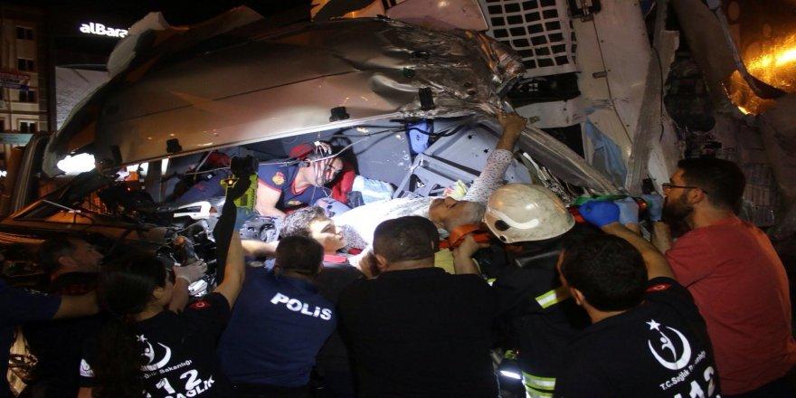 Kocaeli trafik kazası: 1 yaralı