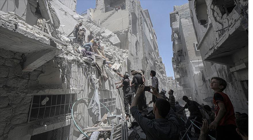 İdlib Gerginliği Azaltma Bölgesi'ne hava saldırısı: 6 ölü, 39 yaralı