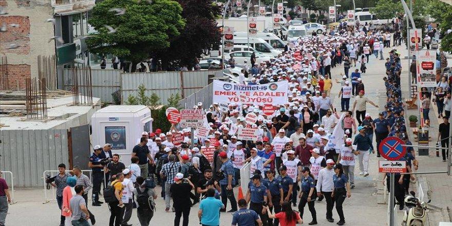 Hak-İş'ten Bolu'da 'Emek ve Adalet Yürüyüşü'