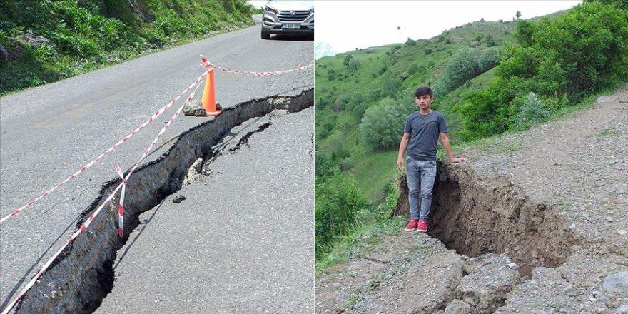 50 haneli köy heyelan riski nedeniyle boşaltıldı