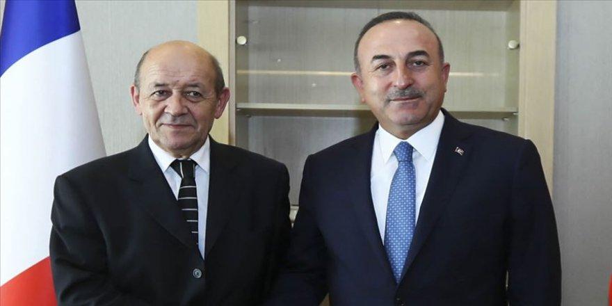 Fransa Dışişleri Bakanı Le Drian Türkiye'ye geliyor