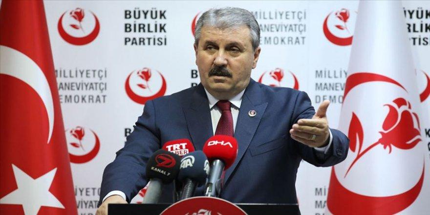 BBP Genel Başkanı Destici: Valiye yapılan hakaret devlete yapılmış demektir