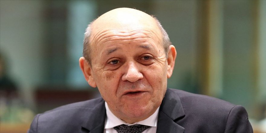 Fransa Dışişleri Bakanı Le Drian: Fransa'nın Kıbrıs'ta konuşlanması gibi bir öngörümüz olmadı