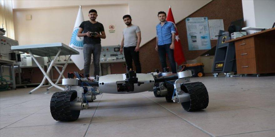 Mars Rover'dan esinlenip 'Türk Rover'ı yaptılar