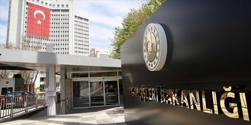 Dışişleri Bakanlığından 'ifade özgürlüğü' paylaşımı