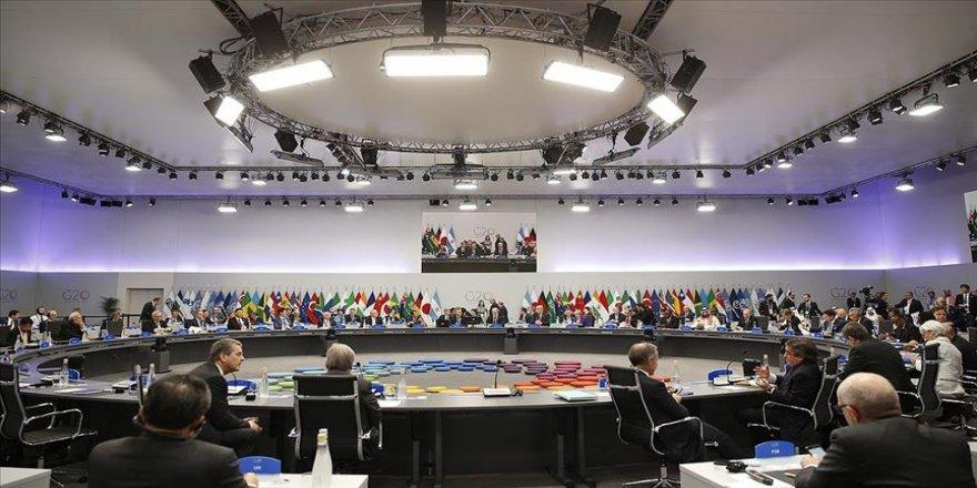 G20'de küresel serbest ticaretin geleceği belirlenecek