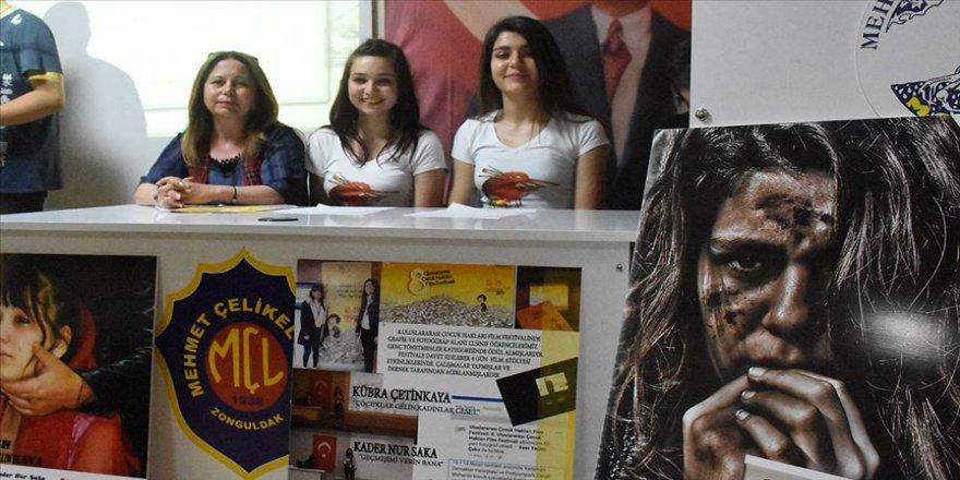 Genç yönetmenler çocuk haklarına dikkati çekti