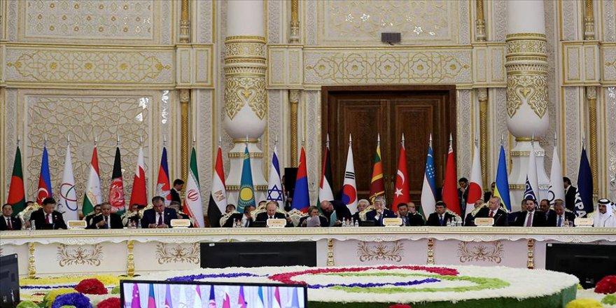 Asya'da İşbirliği ve Güven Arttırıcı Önlemler Konferansı Zirvesi yapıldı