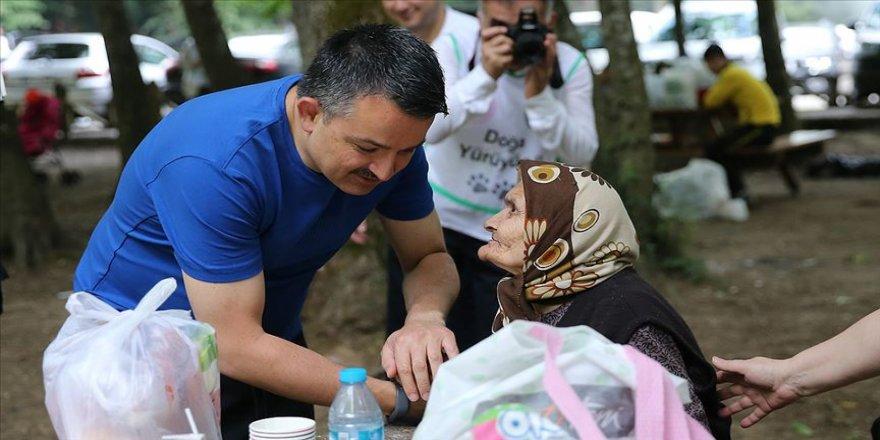 Pakdemirli, Belgrad Ormanı'nda vatandaşlarla buluştu