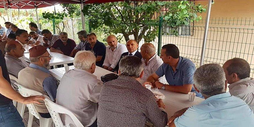 Tarhan'dan Urhan ailesine taziye ziyareti